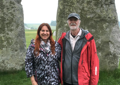 Receiving my second Holy Fire® Ignition with William Lee Rand in 2018 at Stonehenge